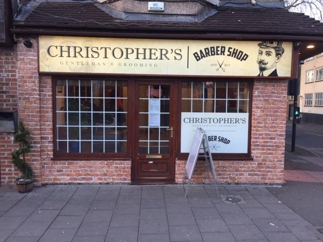 barbershop signage printing swindon wiltshire